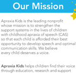 Click here for more information about Apraxia Kids Rack Card