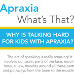 Click here for more information about What is Apraxia/Apraxia Awareness Rack Card